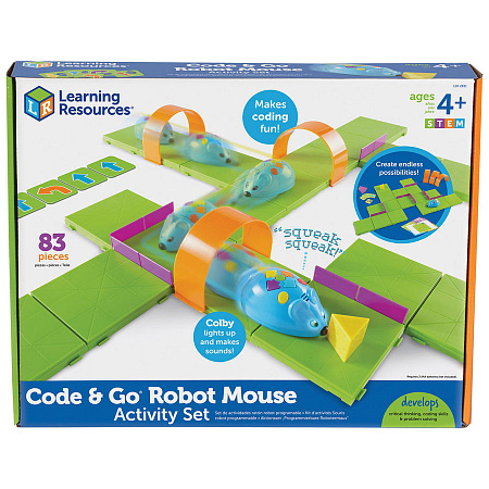 Набор Learning Resources «Code&Go Robot Mouse» Мышиный код Делюкс