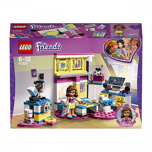 Конструктор LEGO 41329 Friends Комната Оливии