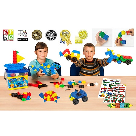 Конструктор Morphun Природа и техника Junior Construction Set