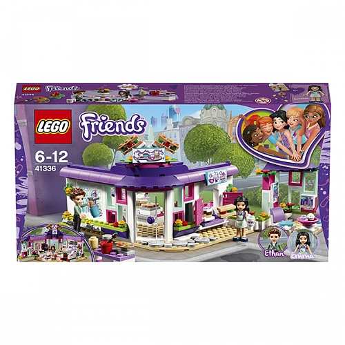 Конструктор LEGO 41336 Friends Арт-кафе Эммы